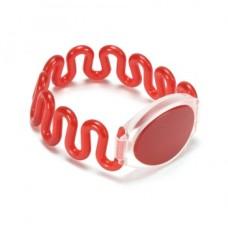 دستبند (مچ بند) آر اف آی دی RFID - فرکانس 125KHz - قرمز
