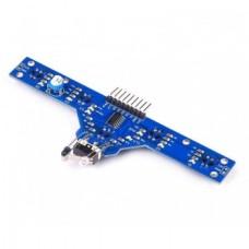 ماژول فرستنده گیرنده 5 سنسور (مخصوص تعقیب خط) - BFD-1000
