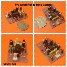 پری آمپلی فایر و تون کنترل مونو - تک ولتاژ