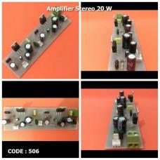 آمپلی فاير استریو 20 وات كلاس AB با آي سي TDA2003