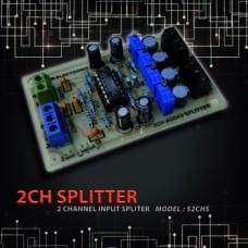 اسپلیتر 1 به 2 ورودی صوتی AUDIO SPLITTER استریو S2CHS