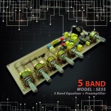 اکولایزر 5 باند استریو مدل SE5S