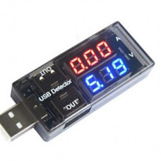 ولت متر آمپر متر USB خروجی دوبل