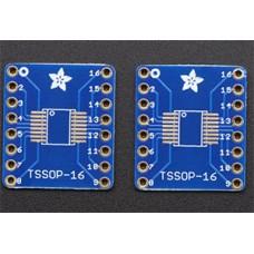 PCB تبدیل smd to dip Tssop16 ssop16